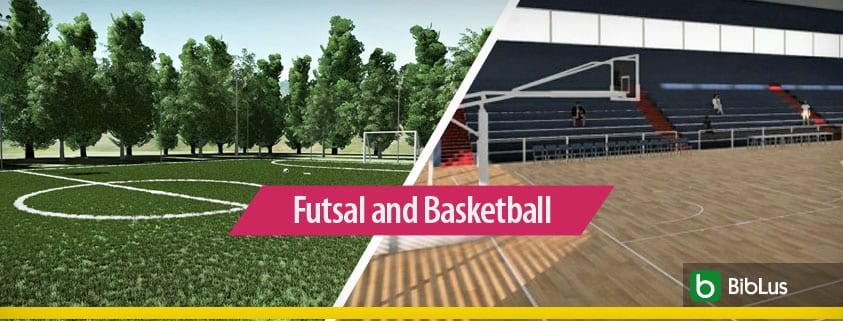 Sports architecture: the futsal pitch and the basketball court_Edificius