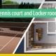 Tennis court and Locker room_software-BIM-architecture-Edificius