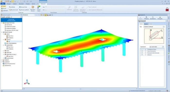 ribbed-slab-example-4 grear advantages that BIM can bring to structural engineers_Edilus