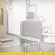 Hair salon design and plans-software-bim-architecture-edificius