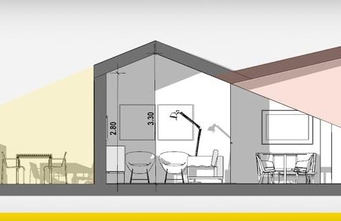 Attic renovation project: ideas and examples-software-architecture-bim-edificius