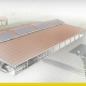 Stable design with an architectural model and pv solar panels