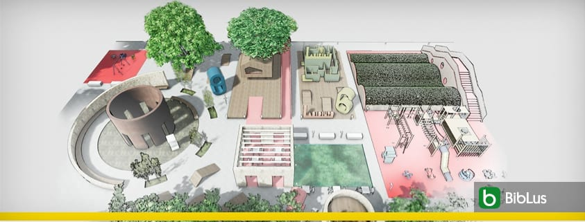 A playground design with an example to download