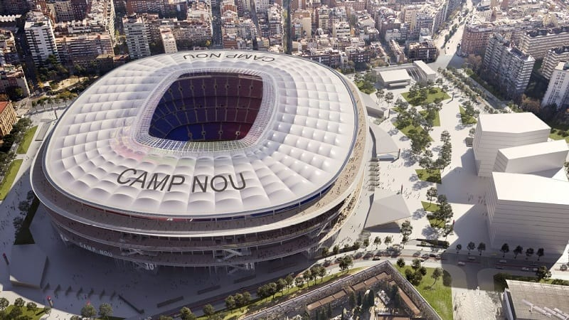 BIM for renovation projects: designing Camp Nou with BIM technology - BibLus