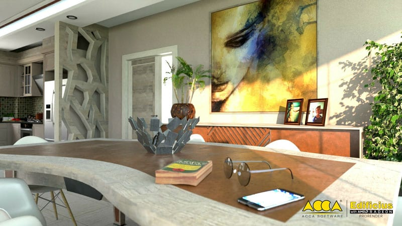 Edificius Architectural Rendering generated with AMD radeon ProRender