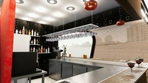 How to design a kiosk bar