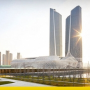 Tallest buildings: Nanjing International Youth Centre