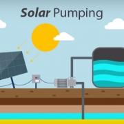 Solar pumping system