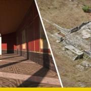 Reconstruction of the Roman Forum of Liternum