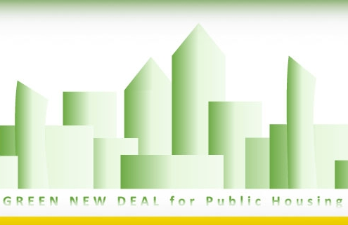 green new deal for US public housing