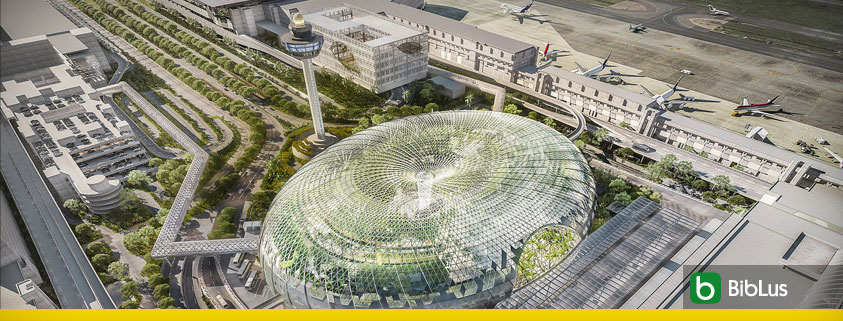 Jewel Changi: the spectacular Singapore airport designed with BIM