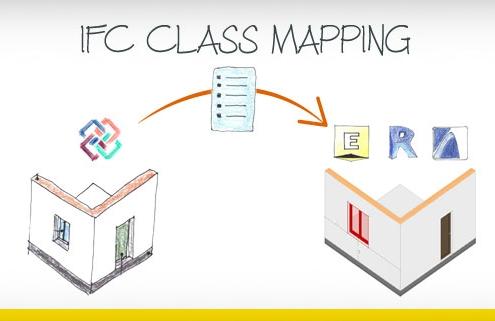 IFC class mapping file
