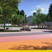 Urban park design concepts and key elements