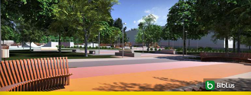 Urban park design concepts and key elements