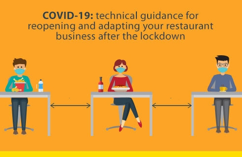 Technical guidance for reopening and adapting your restaurant business after the lockdown