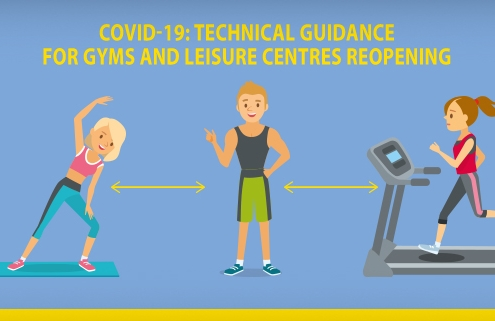 Technical guidance for gyms and leisure centres reopening