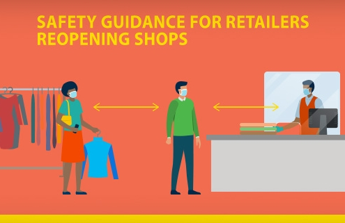Safety guidance for retailers reopening shops