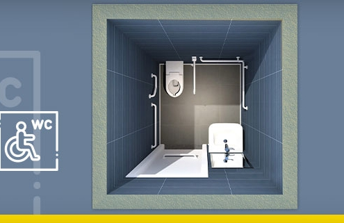 Designing an accessible toilet