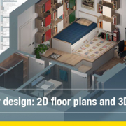 How to generate 2D floor plans and 3D views