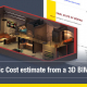 Dynamic cost estimating directly from your 3D model