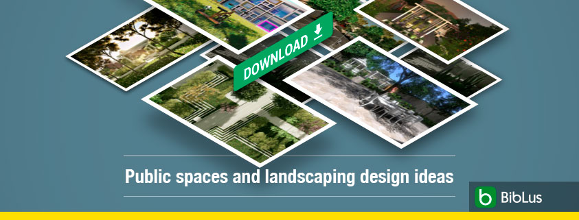 Public spaces and landscaping design ideas