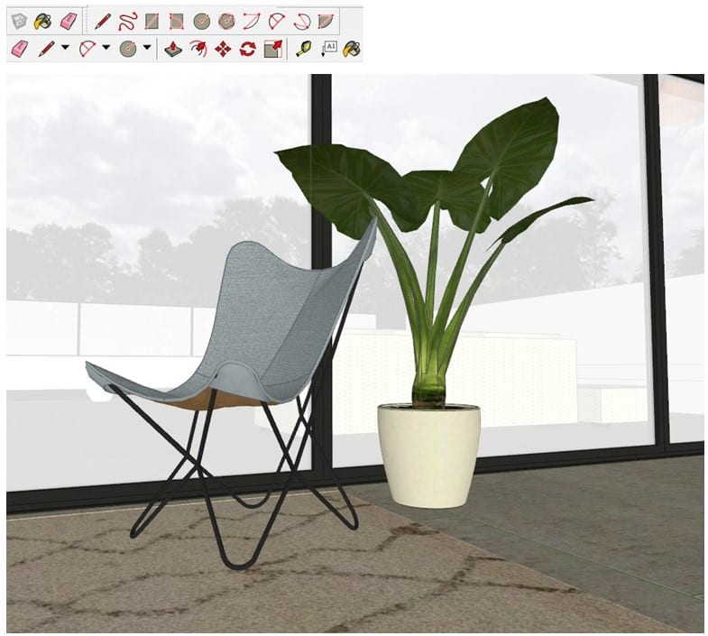 3D architectural rendering tools