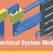 How to model an electrical system in 3D as easy as using a CAD