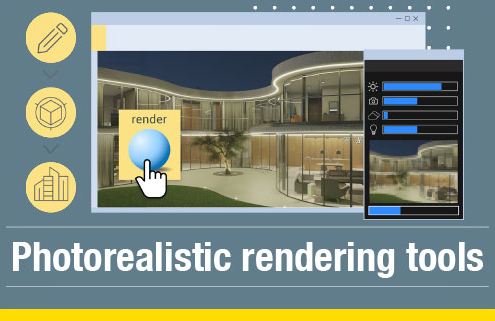 photorealistic rendering tools