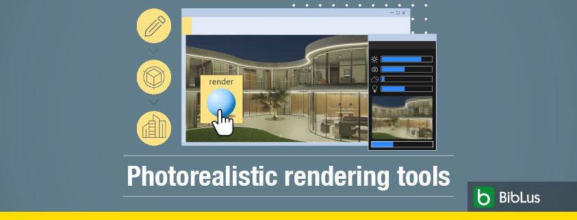 photorealistic rendering tools