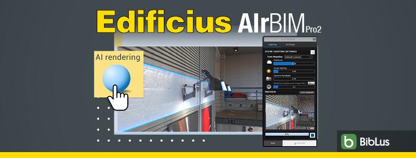 Super-fast Rendering with Edificius AIrBIMpro2 - AI-Denoising in ArchViz Rendering