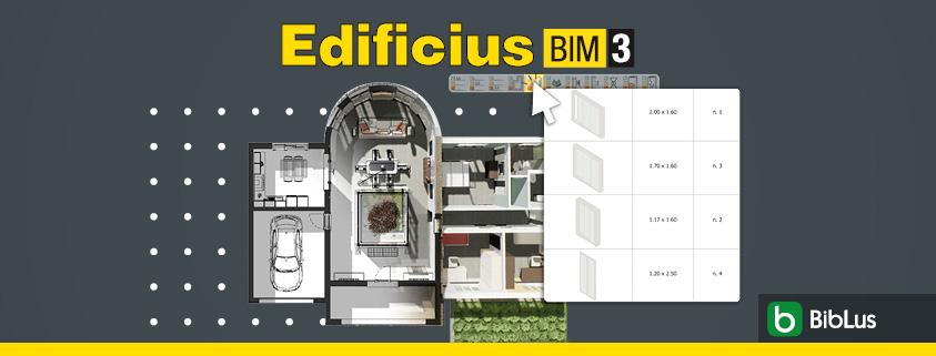 templates for tables and legends in Edificius BIM 3(e)