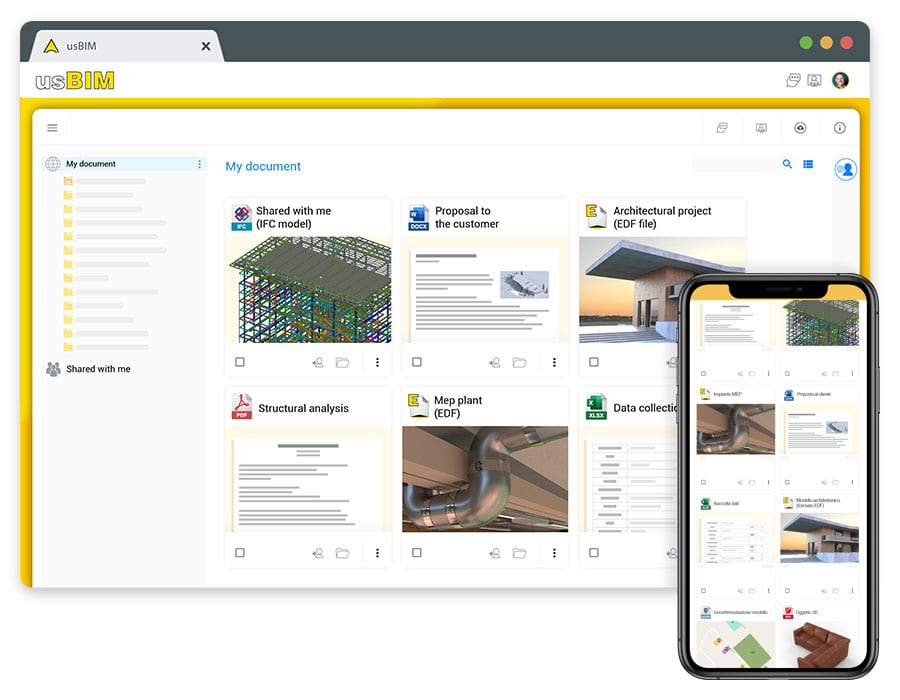 usBIM, the software to manage construction documents