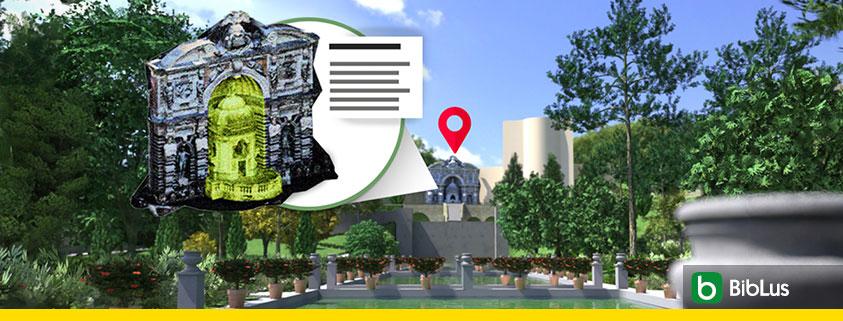 3D model for managing a historical park