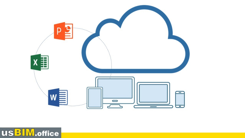 working in cloud computing with usBIM.office