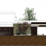imagen en color de una vista en alzado de casa altabrisa 24