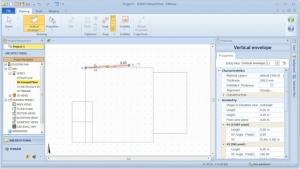 imagen que muestra como insertar una envolvente con utilizando una magnetic Grid como referencia