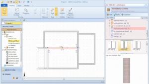 imagen que muestra como seleccionar una estratrigrafia a aplicar a la envolvente