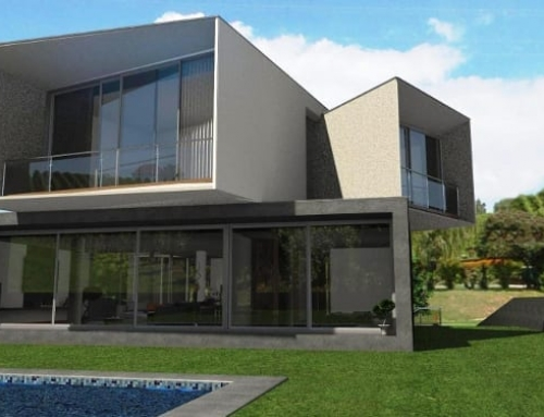 Diseño arquitectónico con un software BIM: Casa San Roque