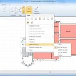 imagen que muestra la interfaz del software Edificius y la funcionalidad para filtar una vista según unidades inmobiliarias