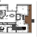 imagen en color de la planta baja de casa san roque