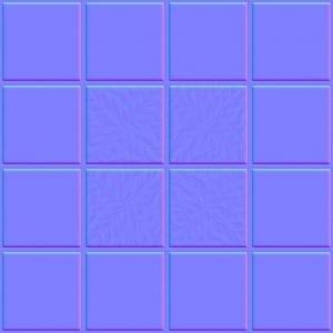 imagen con un ejemplo de Normal Map