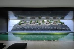 Abertura de un sótano en una residencia realizada por el estudio de diseño A-cero