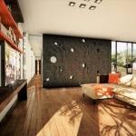 Sala de estar - Render Edificius - Edificius
