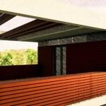 Detalle terraza 2- Casa Roncero