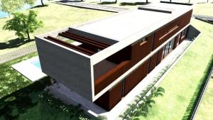 Detalle terraza - Casa Roncero