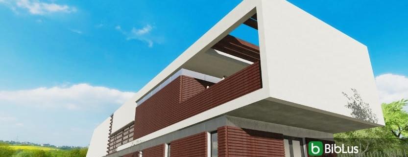 Casa Roncero modelada con un software BIM
