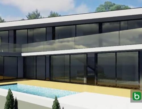 La estupenda Casa JC diseñada con el BIM software