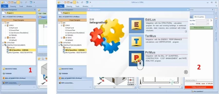 Ejecución y abertura integración software