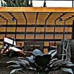 Cobertizo con efecto artístico Casa SJ