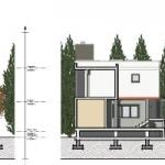 Sección A, Sección b y Sección C de casa SJ